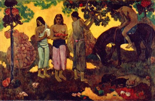 Gauguin, Paul: Rupe Rupe (Obsternte)