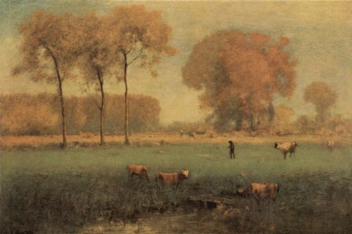 Inness, George: Altweibersommer