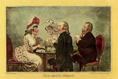 Gillray, James: Zwei-Penny-Whist