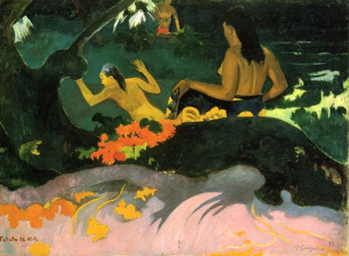 Gauguin, Paul: Am Meer (Fatata te miti)