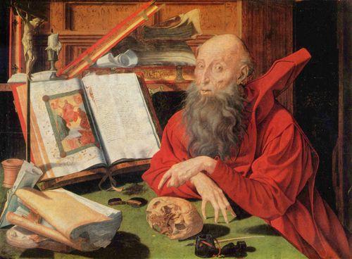 Marinus Claesz. van Reymerswaele: Hl. Hieronymus