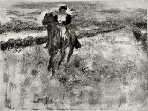 Degas, Edgar Germain Hilaire: Der Jockey