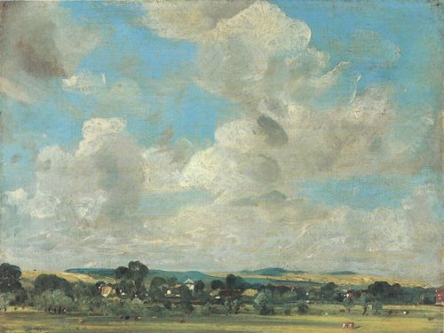 Constable, John: West Harnham und Harnham Ridge
