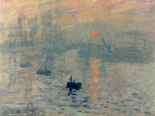 Monet, Claude: Impression, Sonnenaufgang