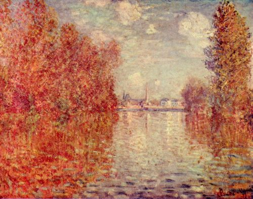 Monet, Claude: Herbst in Argenteuil