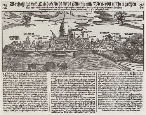 Lang, Georg: Erdbeben in Wien am 15. September 1590