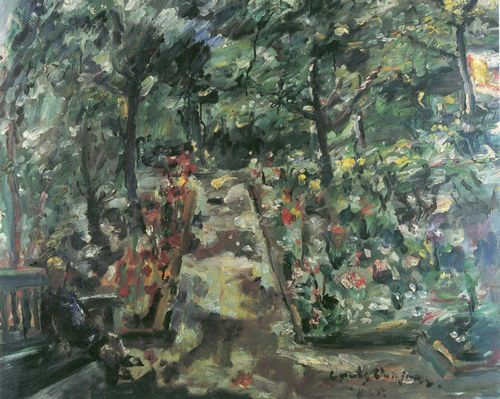 Corinth, Lovis: Garten in Berlin-Westend