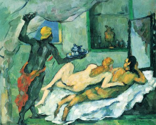 Cézanne, Paul: Nachmittags in Neapel (Der Rumpunch)