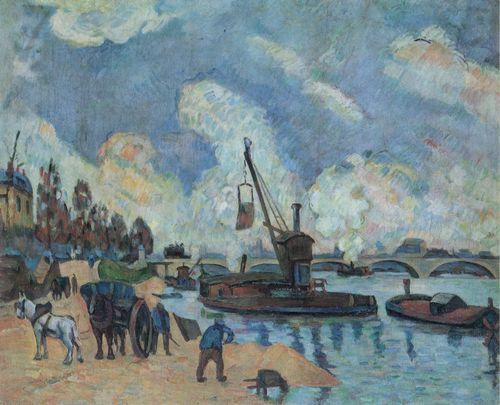 Cézanne, Paul: Am Quai de Bercy in Paris