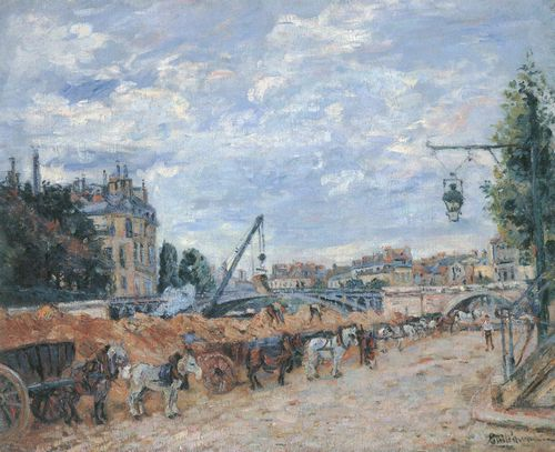 Guillaumin, Jean-Baptiste Armand: Der Pont Marie, Quai Sully