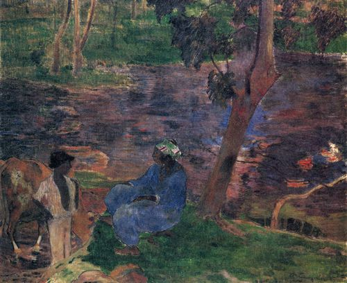Gauguin, Paul: Teichufer