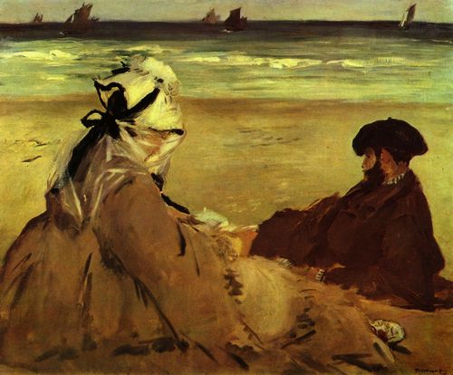 Manet, Edouard: Am Strand