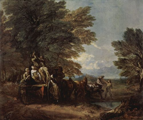 Gainsborough, Thomas: Der Erntewagen