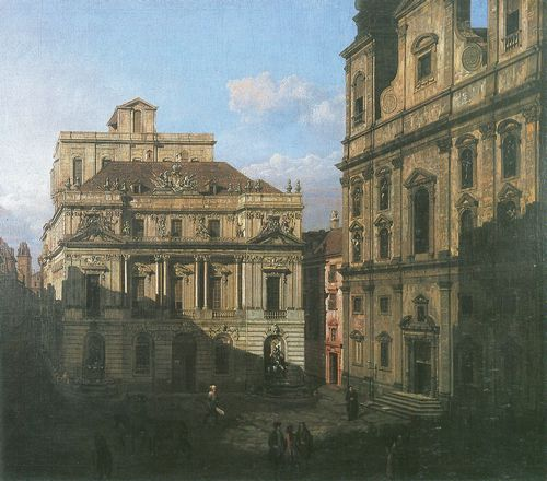 Canaletto (II): Der Universitätsplatz in Wien