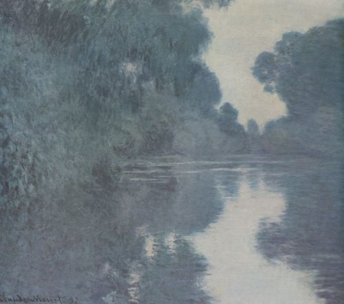 Monet, Claude: Seine-Arm bei Giverny