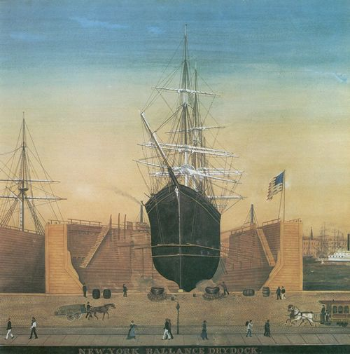 Huge, Jurgen Frederick: New York Ballance Drydock, Detail
