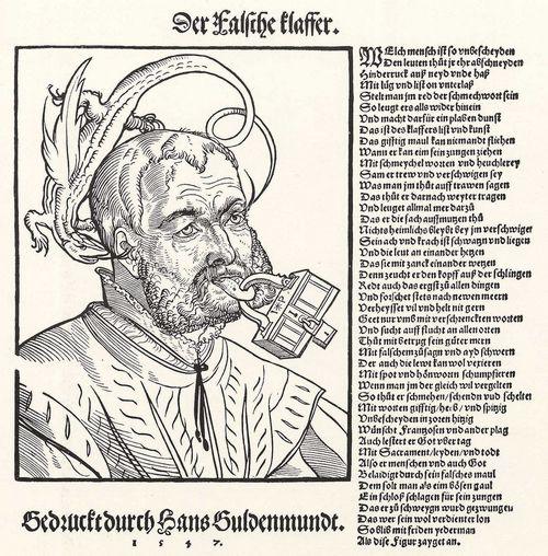 Pencz, Georg: Der Verleumder