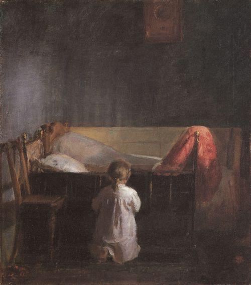 Ancher, Anna: Abendgebet