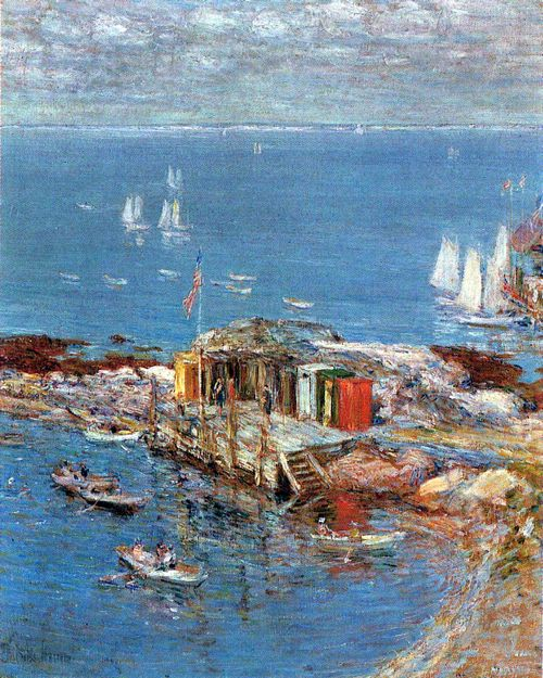 Hassam, Childe: Nachmittag im August, Appledore