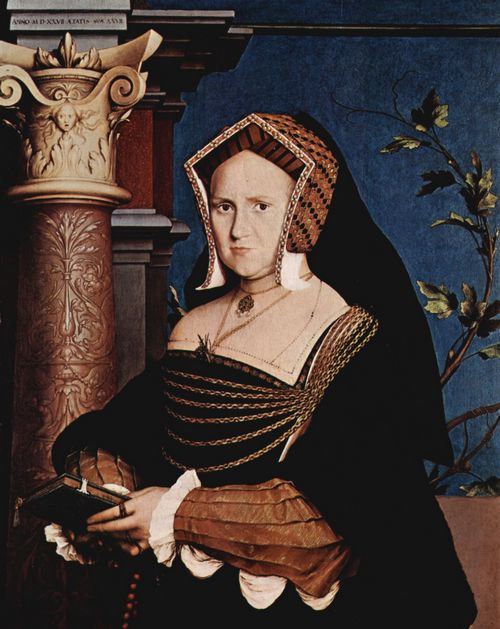 Holbein d. J., Hans: Porträt der Mary Wotton, Lady Guildenford
