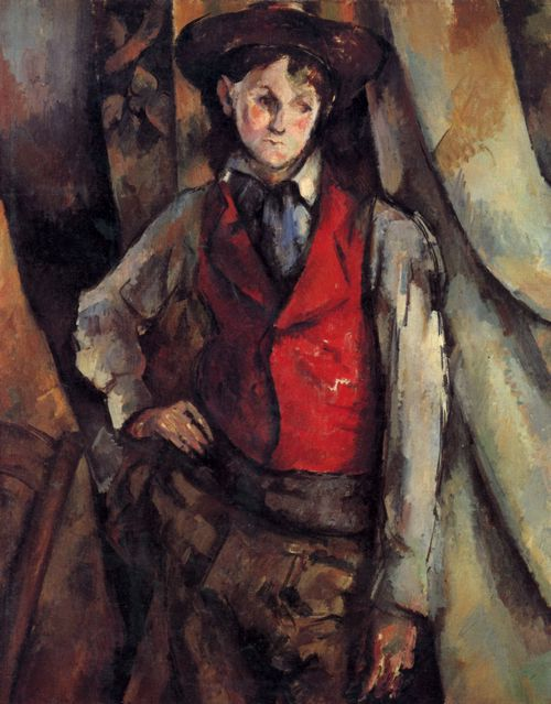 Cézanne, Paul: Knabe mit roter Weste