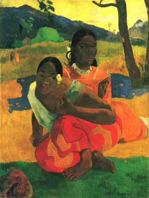 Gauguin, Paul: Wann heiratest du (Nafea faa ipoipo)