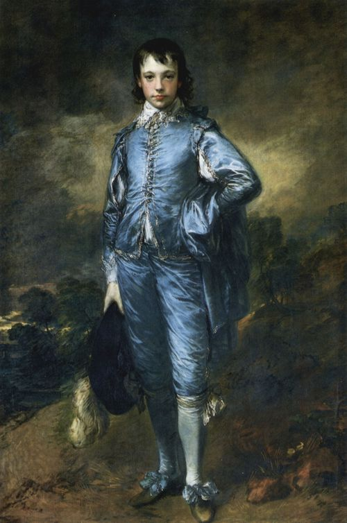 Gainsborough, Thomas: Knabe in Blau (Porträt des Jonathan Buttall)