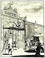 Hogarth, William: Der Geschmack, oder Burlington Gate