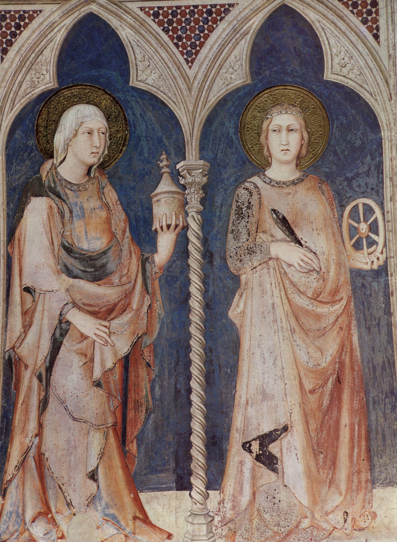 Martini Simone Fresken In Assisi Heilige [5] Zeno