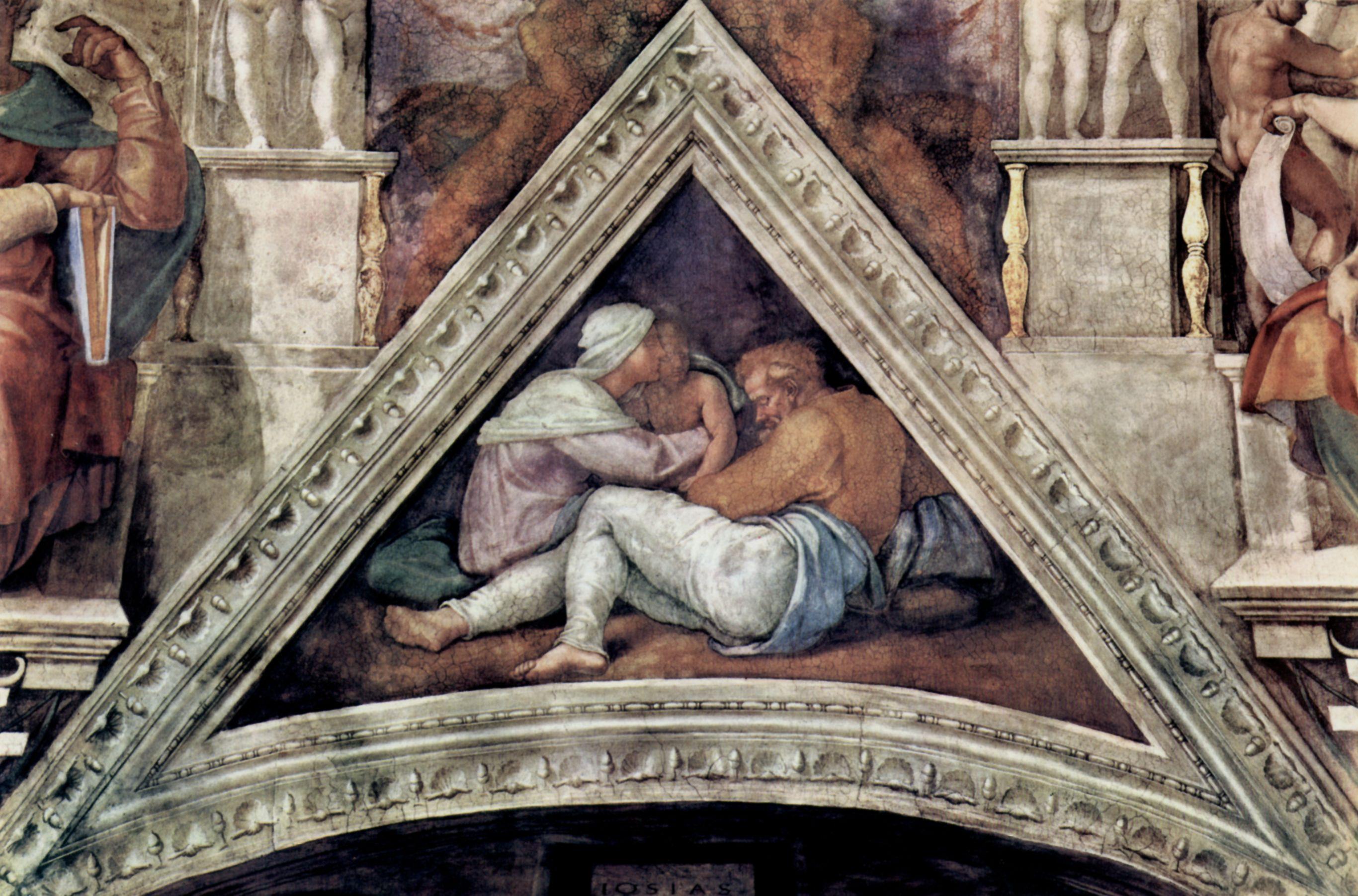 michelangelo sixtinische kapelle decke