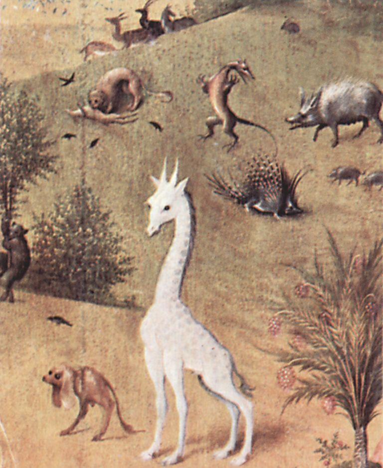 Bosch Hieronymus Der Garten Der Lüste Die Schöpfung Detail 4