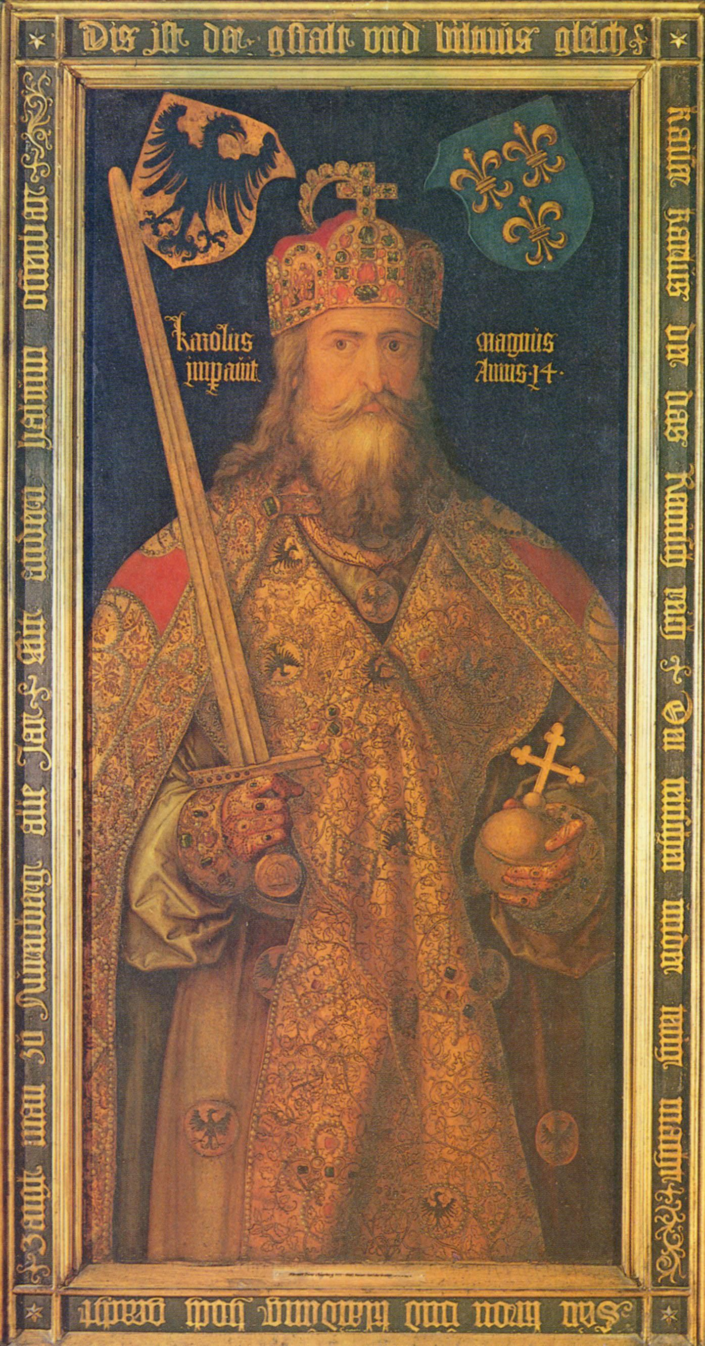 Charlemagne vs alfred the great