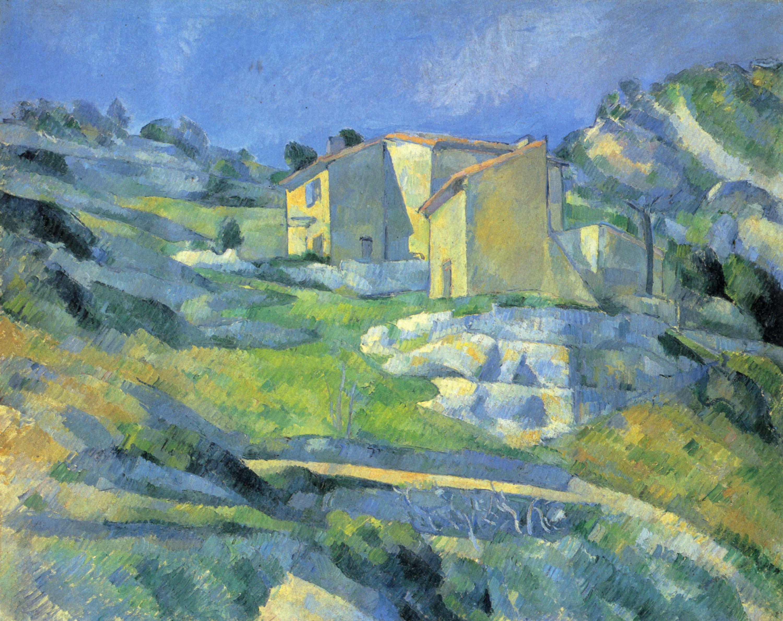 Häuser In cézanne paul häuser in der provence häuser bei l estaque zeno org