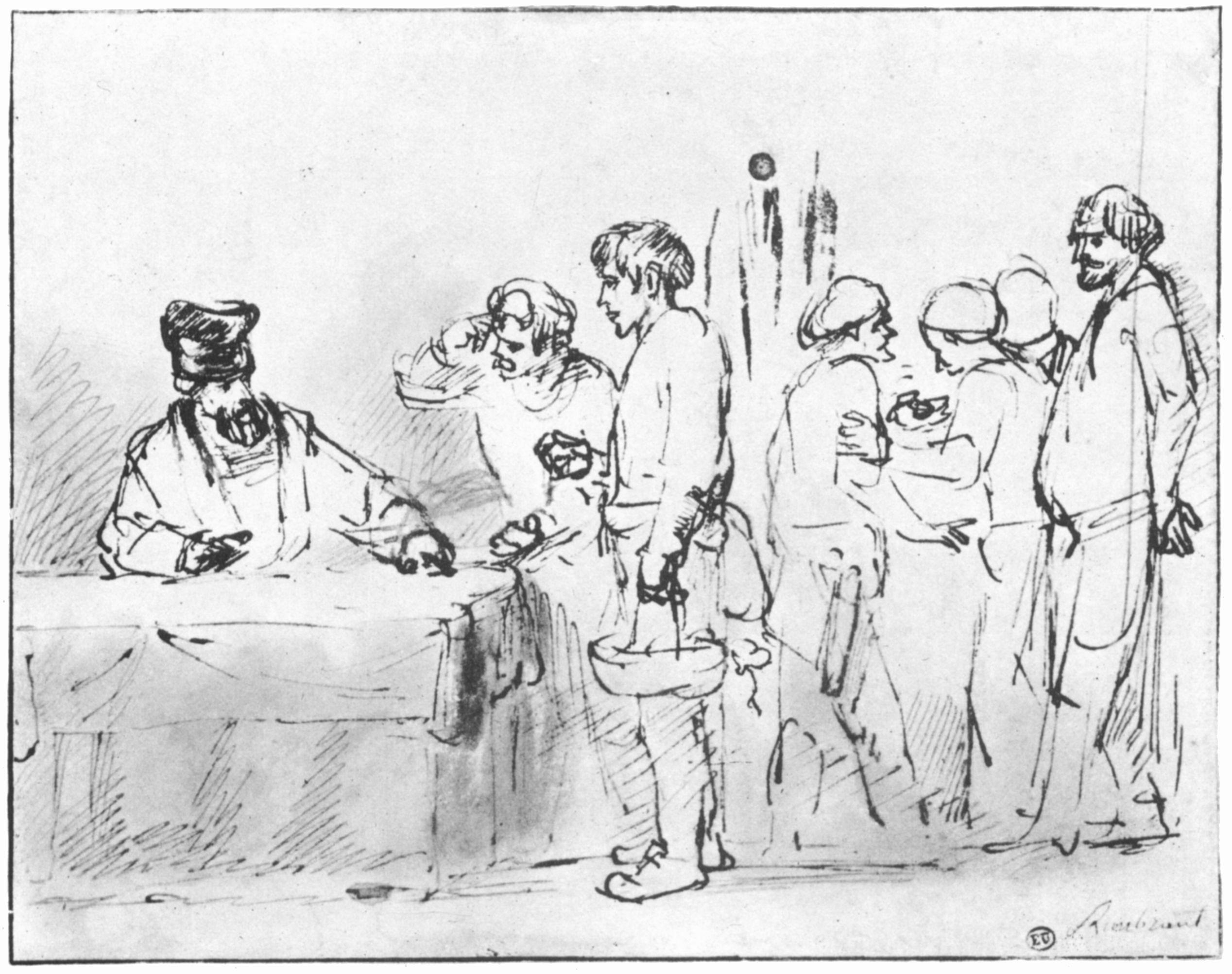Rembrandt Harmensz van Rijn Gleichnis von den Arbeitern im