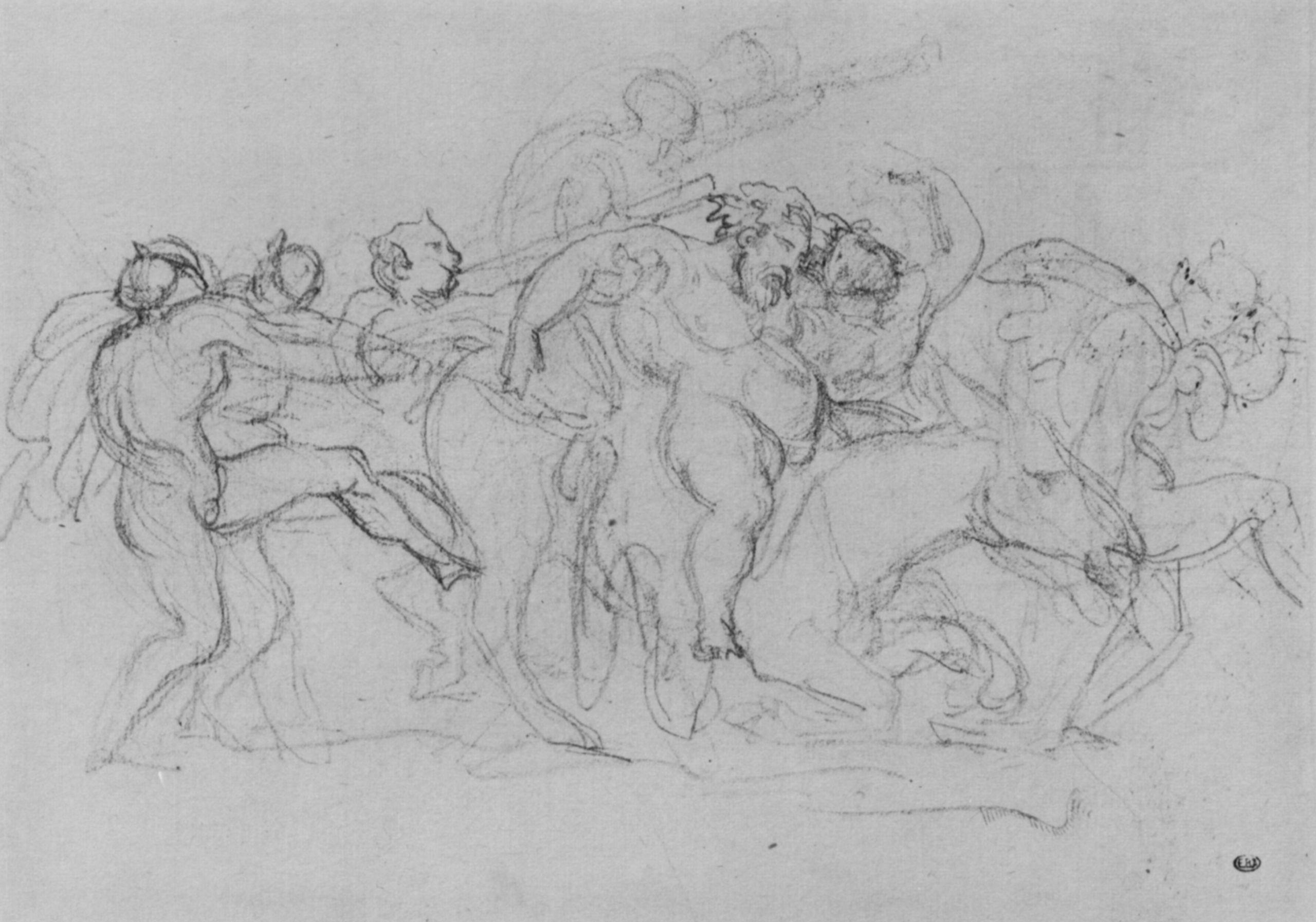 Géricault, Jean Louis Théodore: Der Zug der Silenen Theodore G��ricault