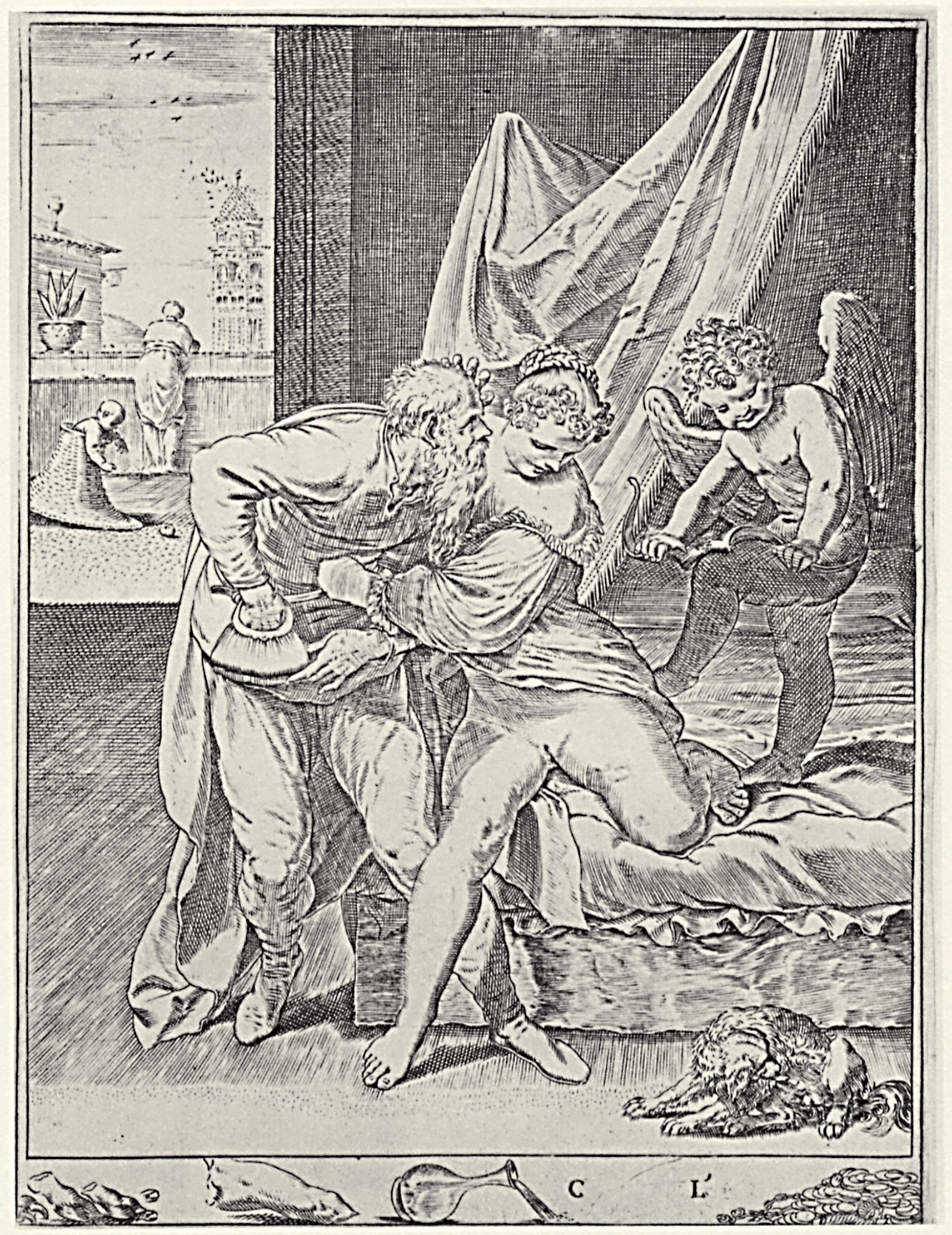 Рисований секс времен княжества богатих дам 21 фотография