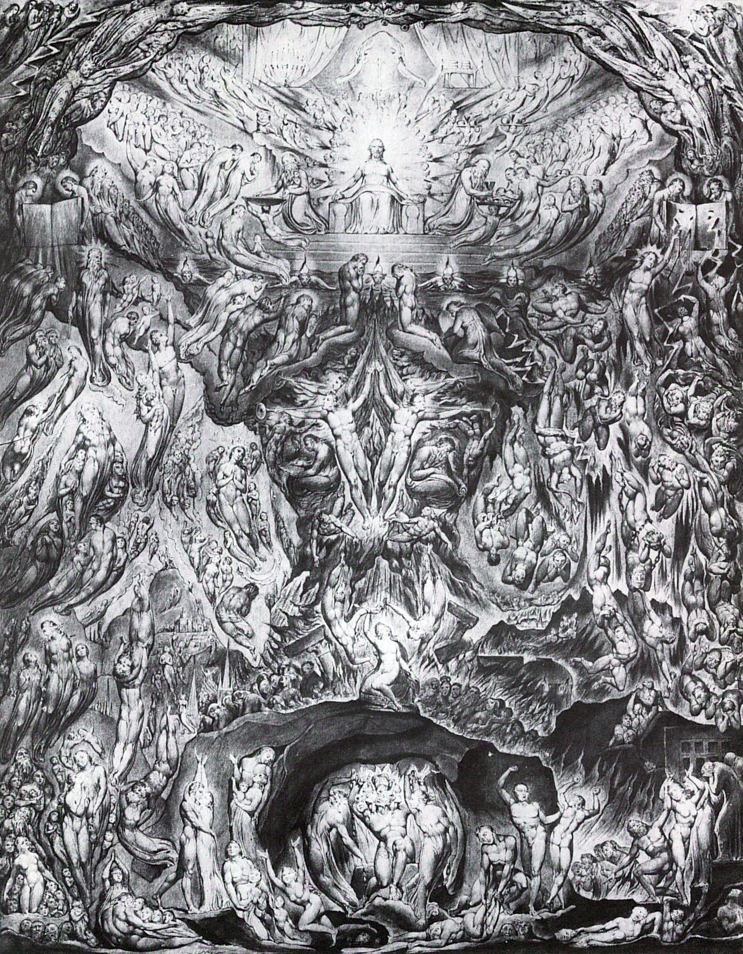 Blake William Das Jüngste Gericht Zenoorg