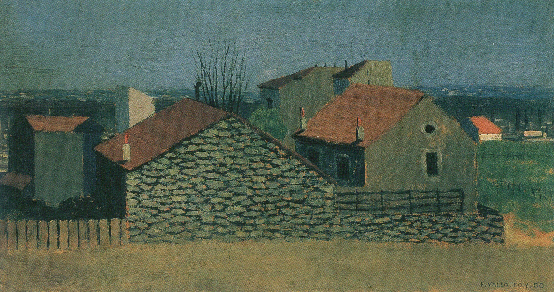 Vallotton, Félix: Häuser in Puteaux - Zeno.org