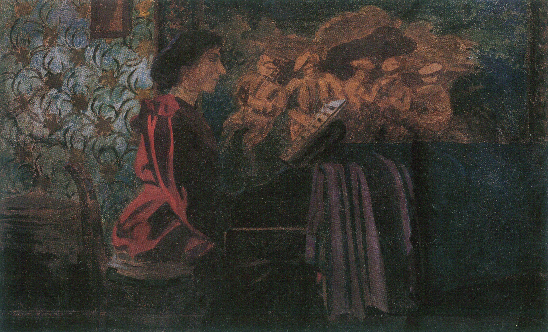 Vallotton, Félix: Am Klavier - Zeno.org
