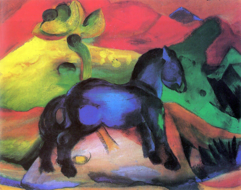 Marc Franz Das Kleine Blaue Pferdchen Zeno Org