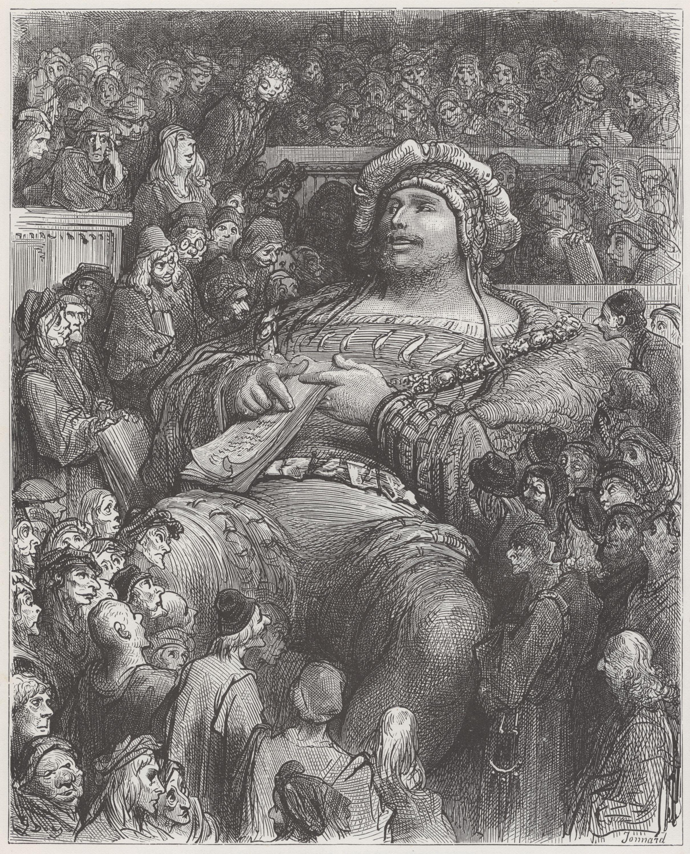 Gustave Dore Pantagruel And Gargantua Images