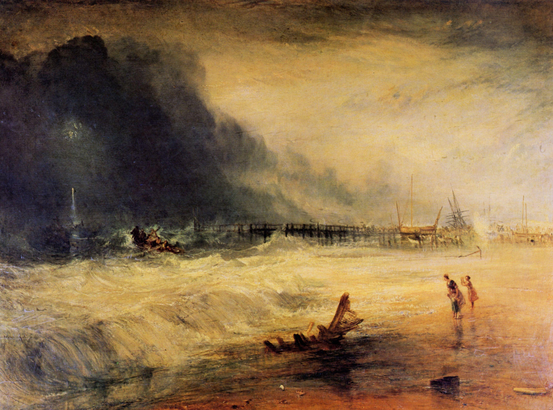 Wave Oil Painting Turner