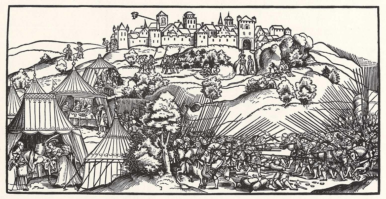 Schoen, Erhard: Belagerung von Betulia - Zeno.org