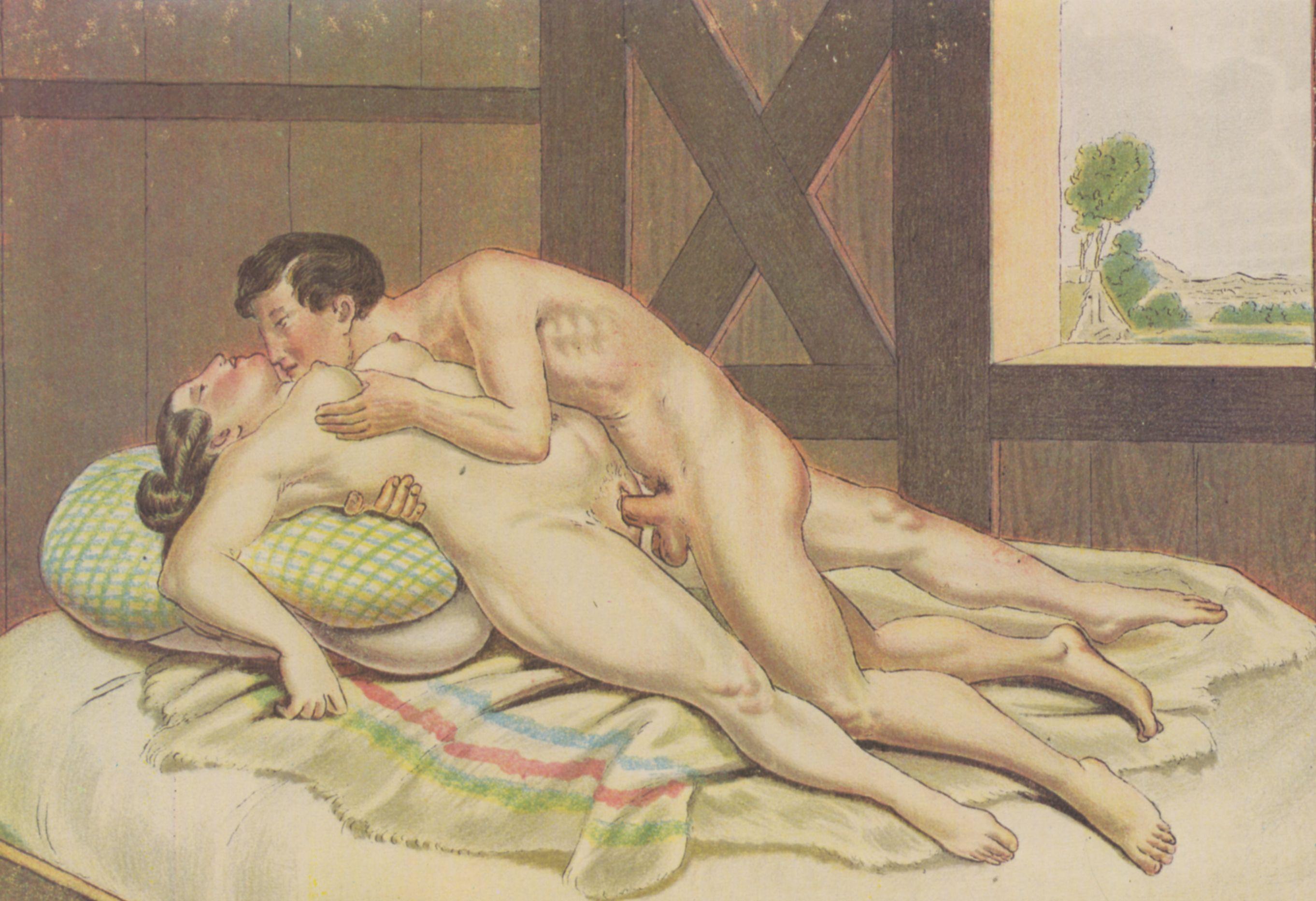 Художница рисует голого мужика, Дочь художница рисует с натуры папин член, сосёт его 12 фотография