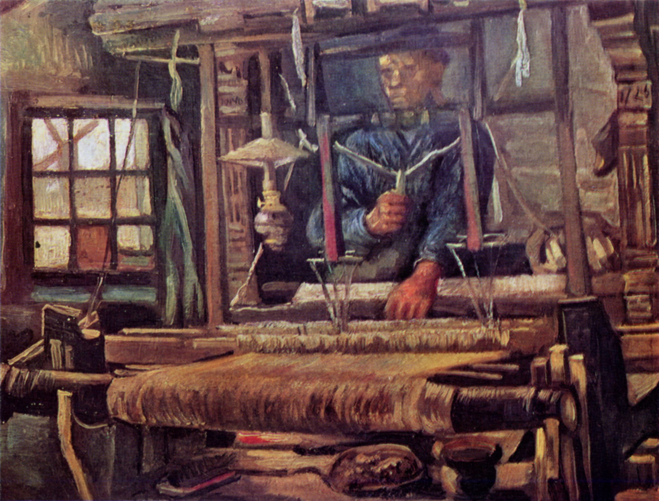 Gogh, Vincent Willem van: Weber am Webstuhl [2] - Zeno.org
