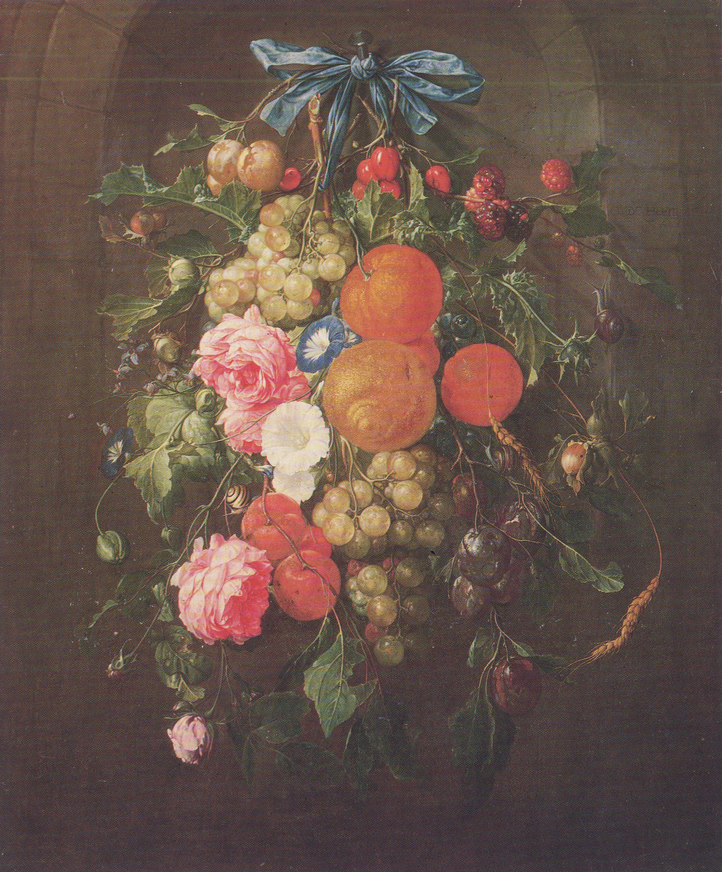 Heem Cornelis Stillleben Mit Blumen Zeno Org