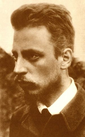 Rainer Maria Rilke (Fotografie, 18. September 1900)