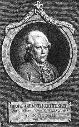 Georg Christoph Lichtenberg (Kupferstich, um 1780)