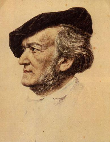 Richard Wagner (nach dem Ölbild von Franz von Lenbach)