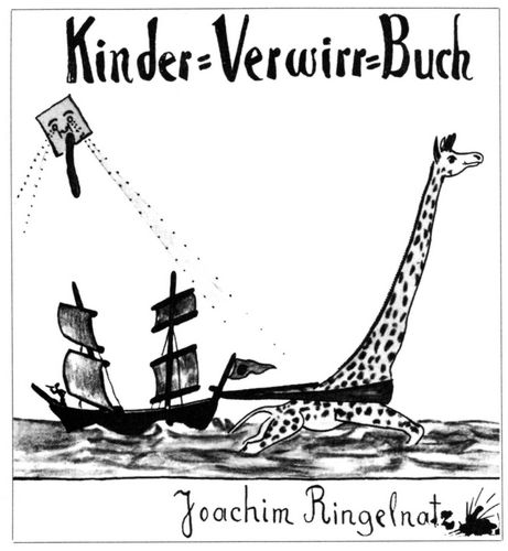 Ringelnatz Joachim Gedichte Kinder Verwirr Buch Zenoorg